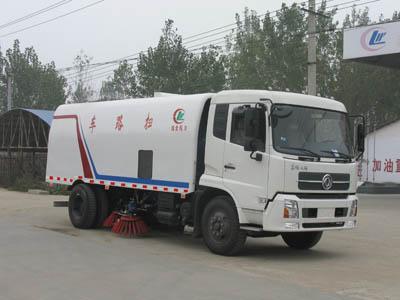CLW5160TSL4型扫路车
