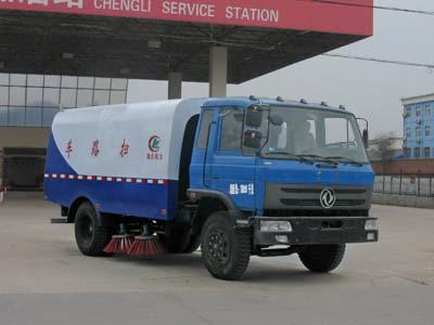 CLW5120TSLT4型扫路车
