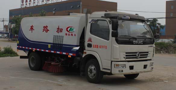 CLW5080TSLD4型扫路车