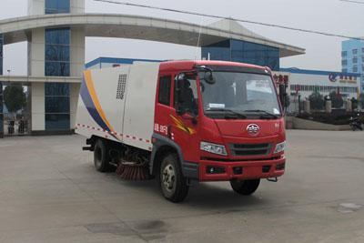 CLW5080TSLC4型扫路车