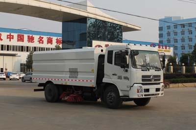 CLW5160TSLD4型扫路车