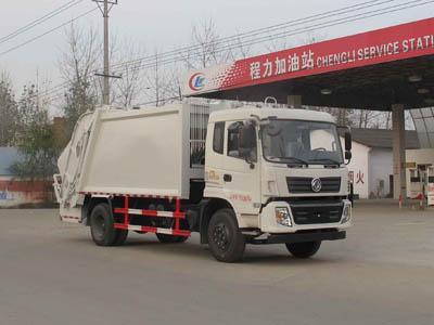 东风单桥压缩式垃圾车